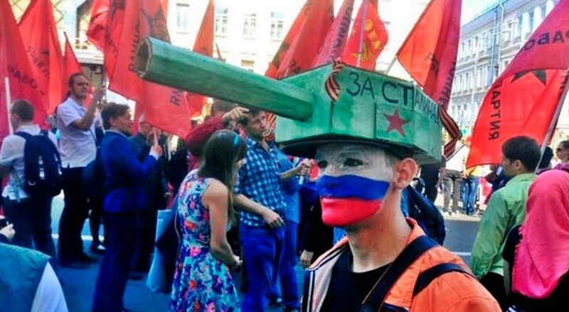 Фашистская Россия объявила исторической правде