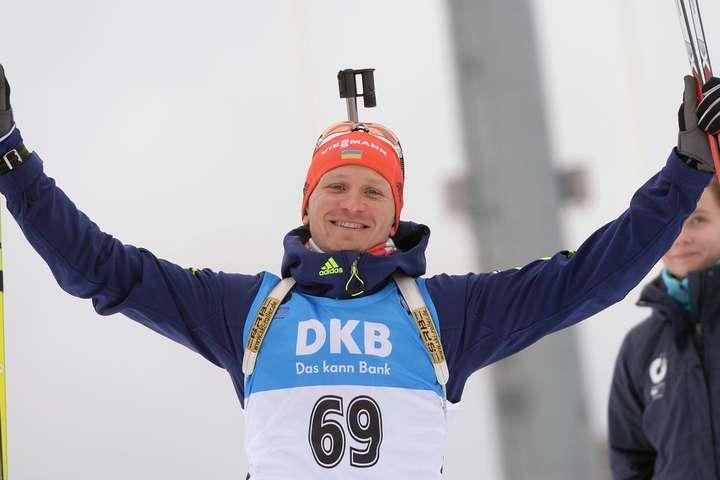 Володар Кубка світу виступить за Україну на четвертому етапі Кубка світу з біатлону