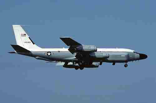Літак-розвідник США розпочав політ в акваторії Чорного моря