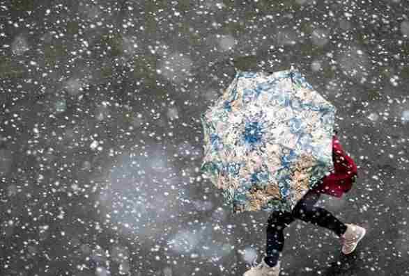 Погода на 16 квітня: дощі – у всіх регіонах України, у західних областях – зі снігом