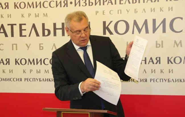 Україна оголосила в розшук голову кримського