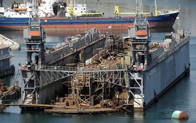 В окупованому Криму затонув підводний човен