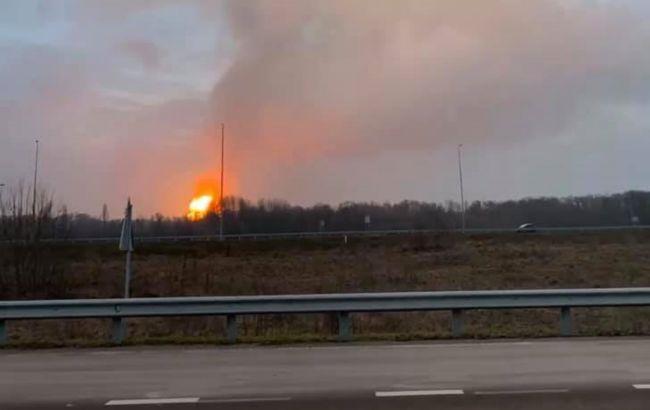 Вибух на газопроводі біля Лубнів: можливі екстрені відключення