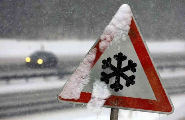 Прогноз погоди на 2 грудня: в Україну йде мокрий сніг і ожеледиця