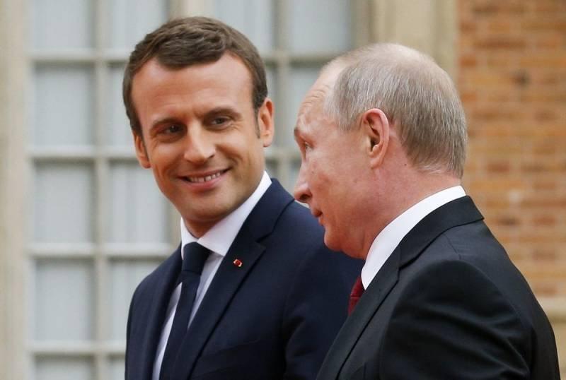 CNN: Відкритість Макрона до Росії випробовує терпіння союзників по НАТО