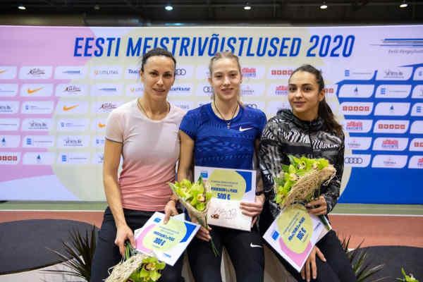 Українські легкоатлетки зайняли весь п'єдестал на міжнародному турнірі в Естонії