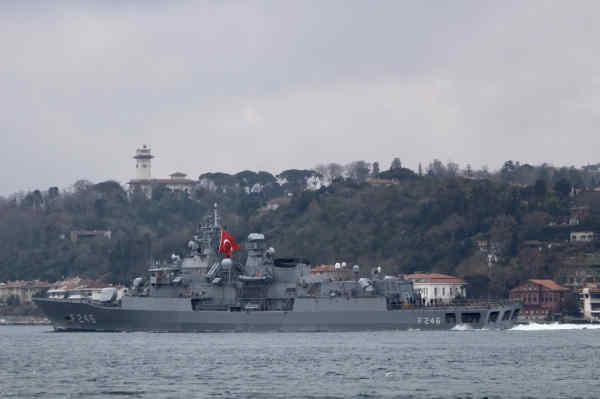 Три кораблі НАТО зайшли у Чорне море