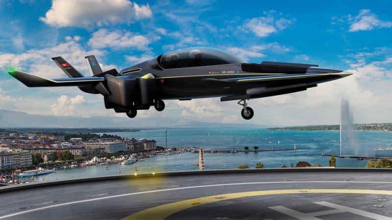 Manta Aircraft показала прототип міського аеротаксі з вертикальним зльотом