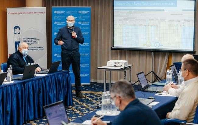 Українських медиків почали навчати антиковідному вакцинуванню