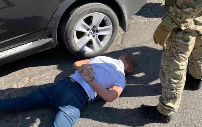 В Кіровоградській обл. спецназ затримав оголошеного в розшук співробітника СБУ