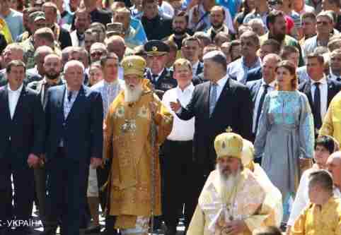 Пару слів про його святість патріарха Філарета і врятований Собор