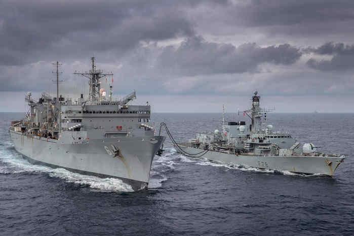 ВМС США та Британії проводять спільну операцію в Баренцевому морі