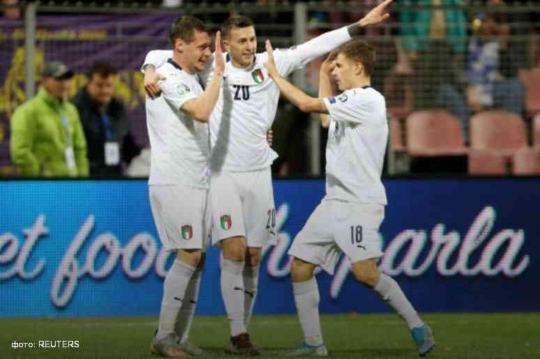 Євро-2020: Італія без проблем розгромила Боснію і Герцеговину