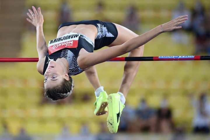 Ярослава Магучіх виграла етап «Діамантової ліги» у Монако