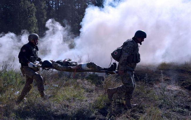 На Донбасі з початку року загинули 18 військових, понад 120 були поранені