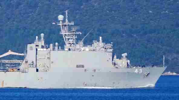 США вважають законним перебування свого корабля в акваторії Чорного моря