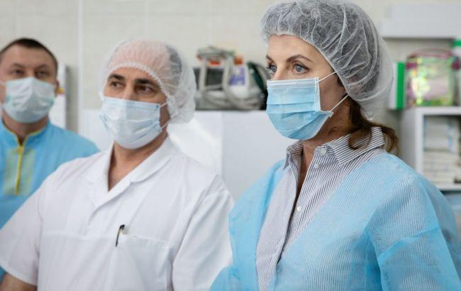 У київській лікарні запрацювали апарати ШВЛ, передані фондом Порошенка