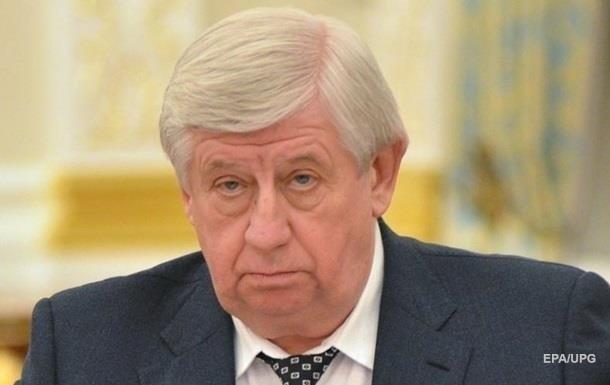 Шокін заявив, що розслідування щодо Байдена велося незаконно