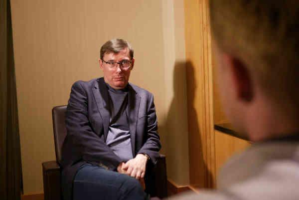 Юрій Луценко про гроші Януковича, скандал з Йованович, Трампа і Волкера