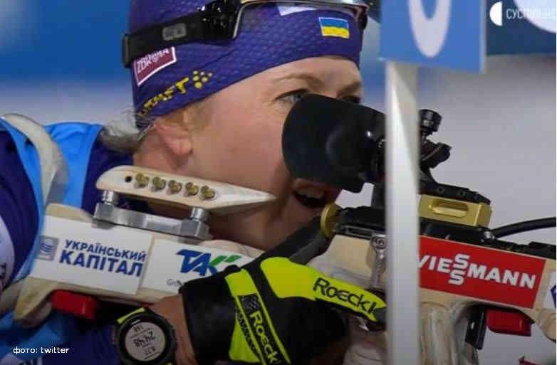 Біатлон: Джима принесла Україні першу в сезоні медаль Кубка світу
