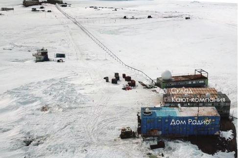 GOOD NEWS!: В Антарктиці згоріла російська станція, через ураганний вітер вогонь перекинувся на кают-компанію