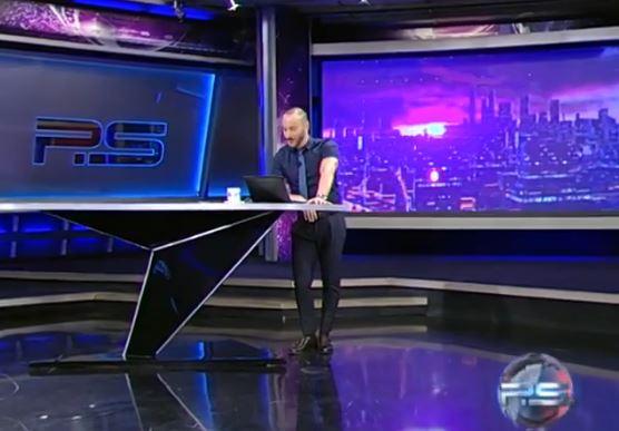 Грузинський телеканал не звільнятиме журналіста, який облаяв Путіна