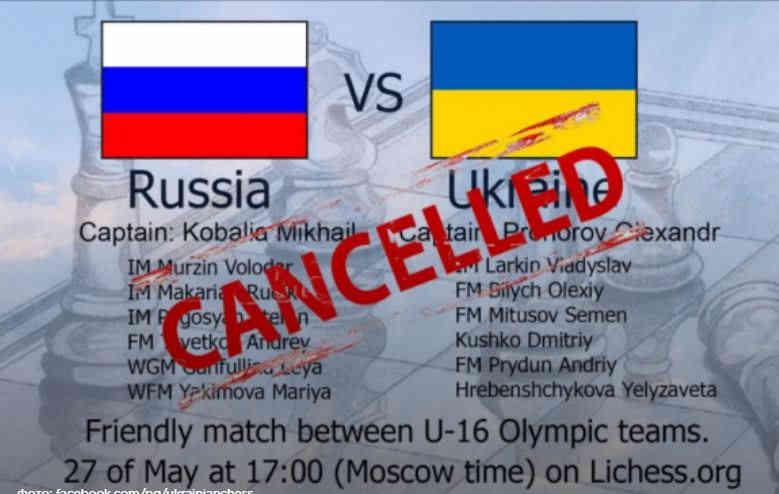Українські шахісти відмовилися від