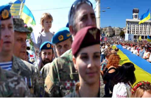 Украина показала силу духа. Послесловие к народному параду