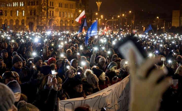 Польщу охопили протести проти судової реформи