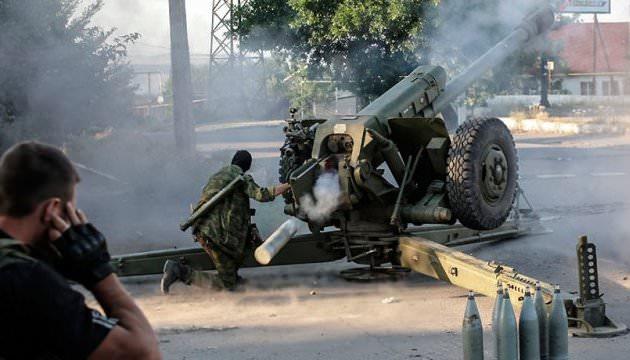 Російські окупанти накрили щільним вогнем сили ООС біля Зайцевого та Павденного