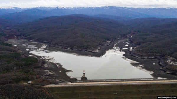 У окупованому Криму повністю виснажені два водосховища - моніторинг