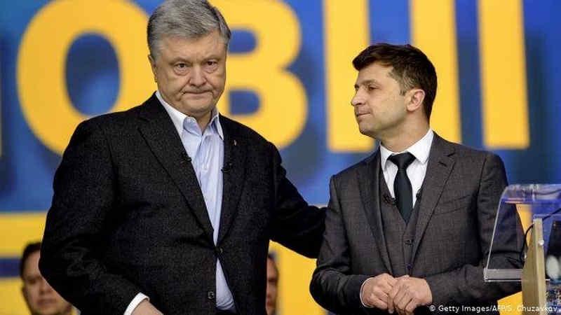 Розрив між Зеленським і Порошенком стрімко скоротився, у другому турі 55% на 45% – рейтинг КМІС
