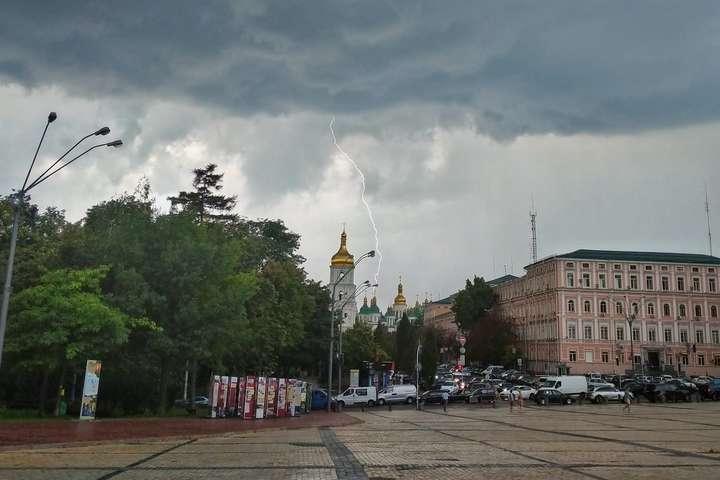 Погода на День Незалежності: частину України накриють дощі та грози