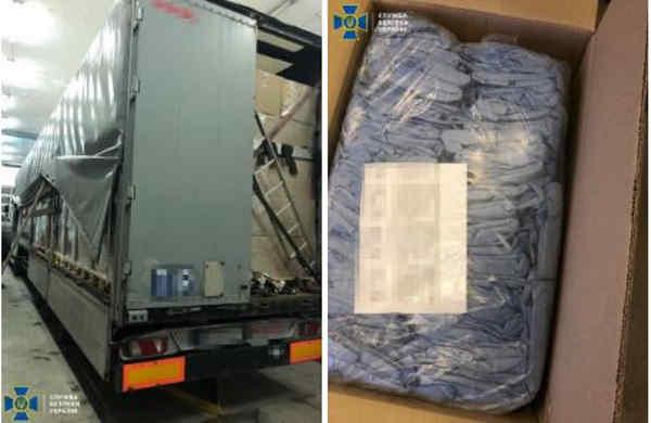 СБУ попередила незаконне вивезення з України майже 40 тисяч медичних халатів