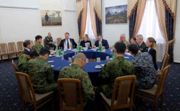 Японія вперше візьме участь в українських військових навчаннях See Breeze