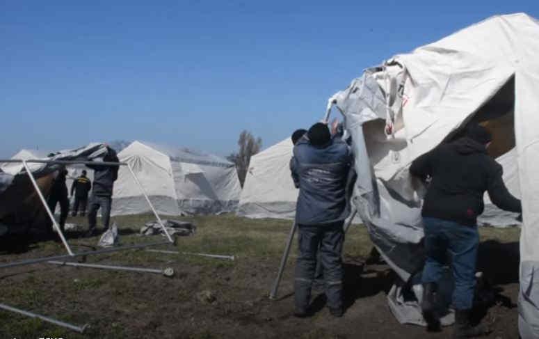 На Дніпропетровщині розгорнули наметове містечко для обсервації