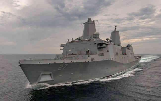 У США на корабель ВМС почали встановлювати перший бойовий лазер