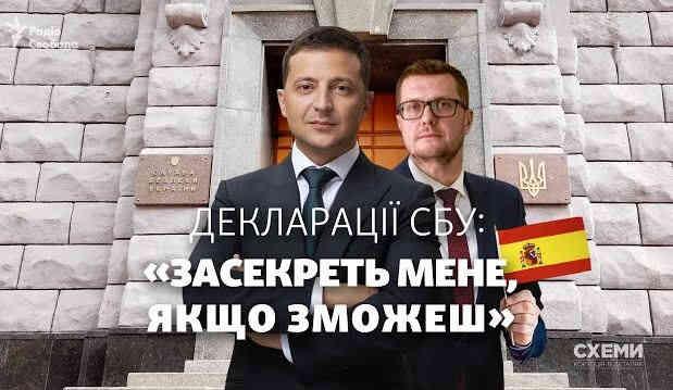 Голова СБУ Баканов виявився керівником в іспанській комерційній компанії, -