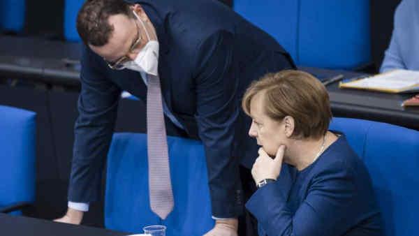 Bild: глава МОЗ Німеччини розглядає можливість виставити свою кандидатуру на пост канцлера