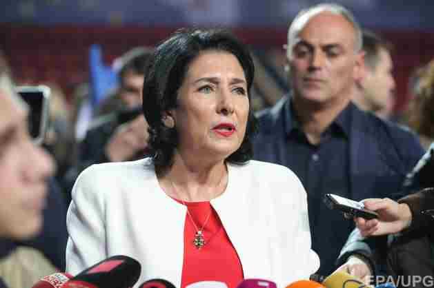Президент Грузії закликає Путіна не йти на ескалацію через інцидент на