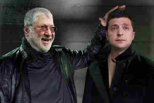 «Схеми»: Зеленський міг тричі таємно зустрічатися з Коломойським за останні два місяці