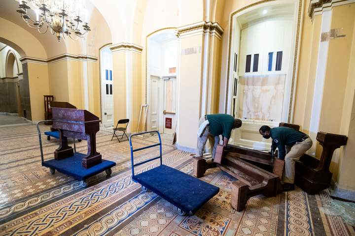 Збитки через штурм Капітолія покриватимуть платники податків – Reuters