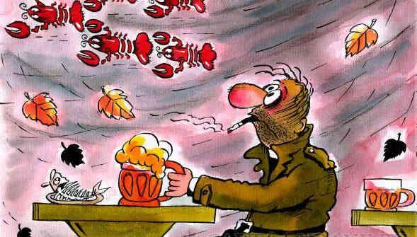 Погода на 26 вересня: в Україну сунуть дощі, похолодання та штормові вітри