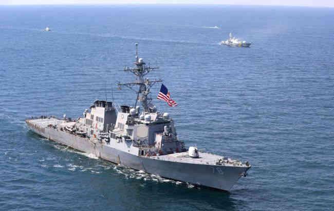 США провели військові навчання у Чорному морі