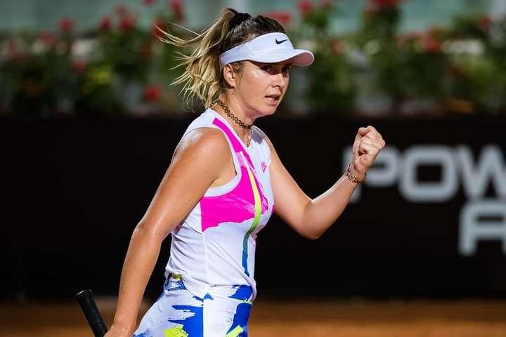 Еліна Світоліна перемогла росіянку на старті Roland Garros