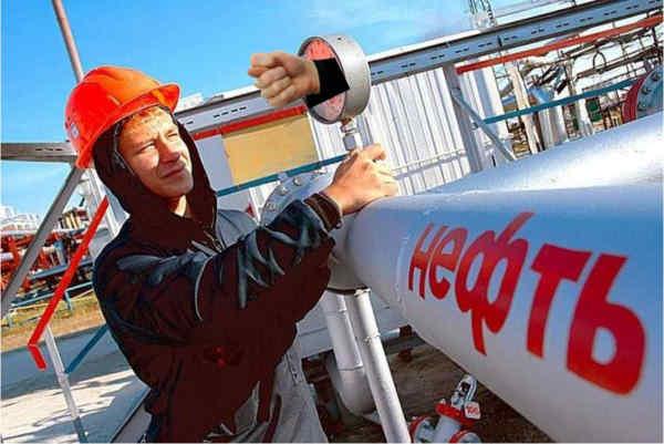 Доходи Московії від продажу нафти минулого року впали майже на 50%