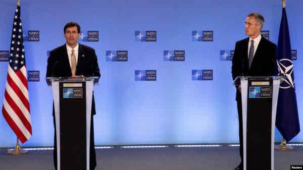 Глава Пентагону представив нову оборонну ініціативу США на зустрічі міністрів оборони НАТО