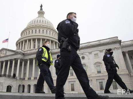 У США затримали 70-річного власника пікапу з вибухівкою виявленого біля будівлі Конгресу США