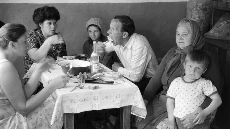 Убогие блюда советской кухни