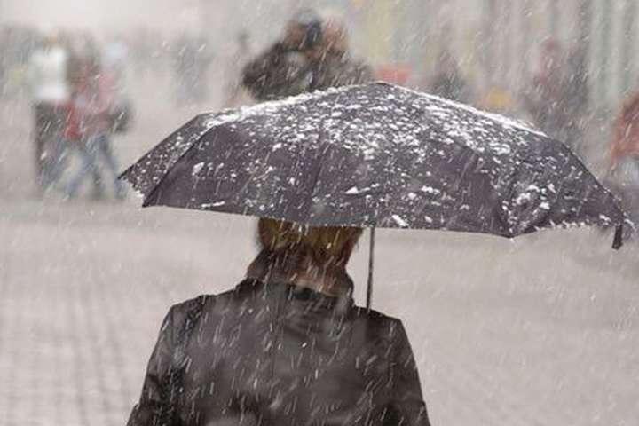 Погода на 6 лютого: в Україні очікується сніг з дощем і похолодання